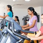 gym facility at bbdu