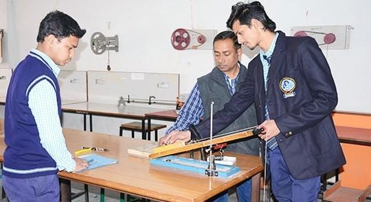 BTech Lab of BBDU Lucknow