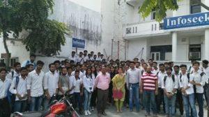 students visit