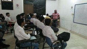 students training