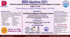BBDU Ideathon 2021
